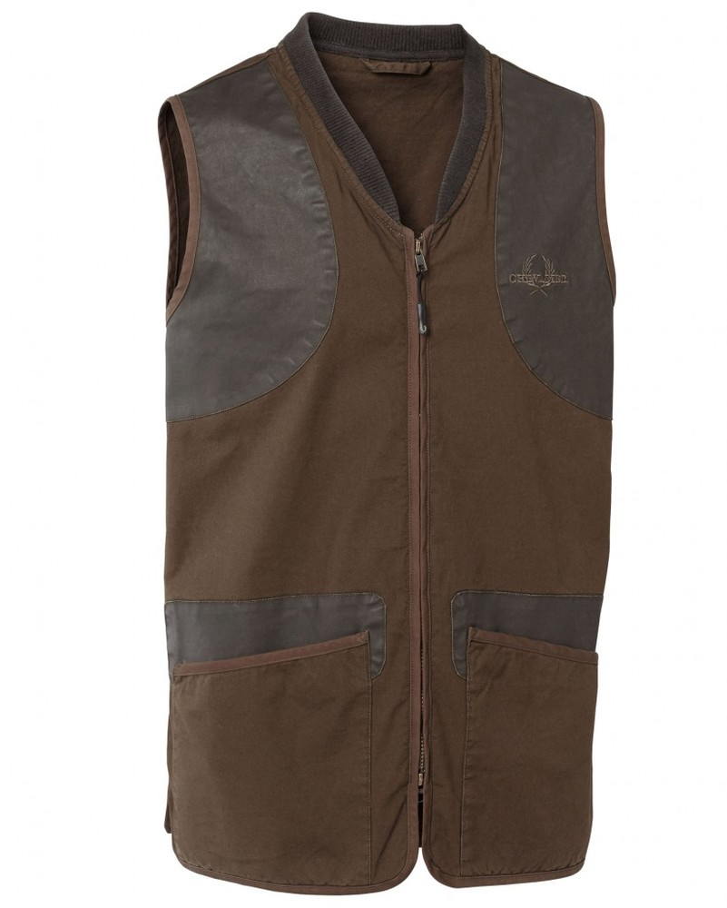 Devon Shooting Vest Chevalier - Brown