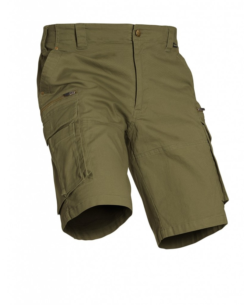 Devon Shorts Chevalier - Green
