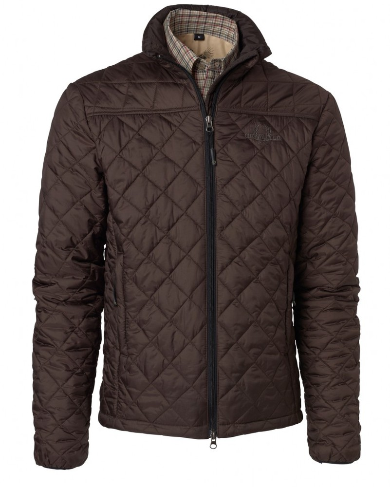 Avalon Quilt Coat Chevalier - Brown