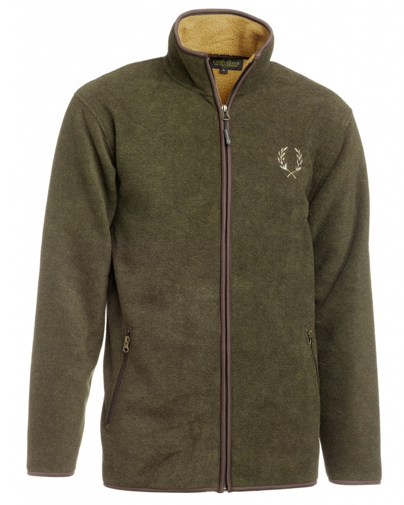 Mainstone Fleece Cardigan Chevalier - Green