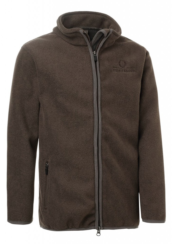 Bylot Fleece Coat JR Chevalier - Brown
