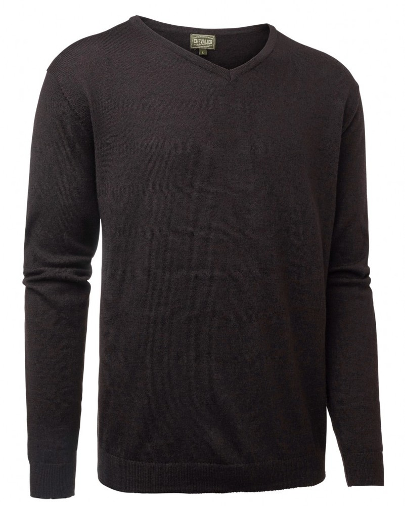 Gart Merino Sweater Chevalier - Brown