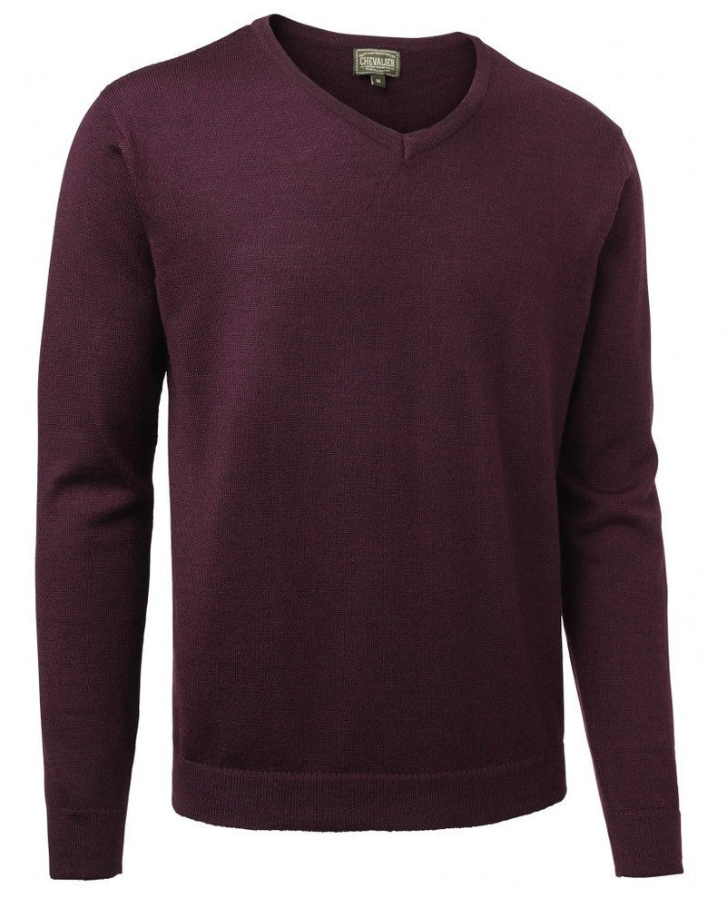 Gart Merino Sweater Chevalier - Purple