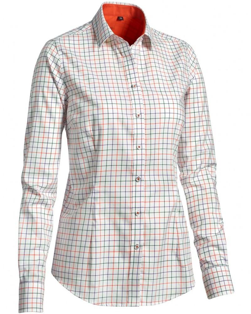Milady Shirt LS Chevalier - Check
