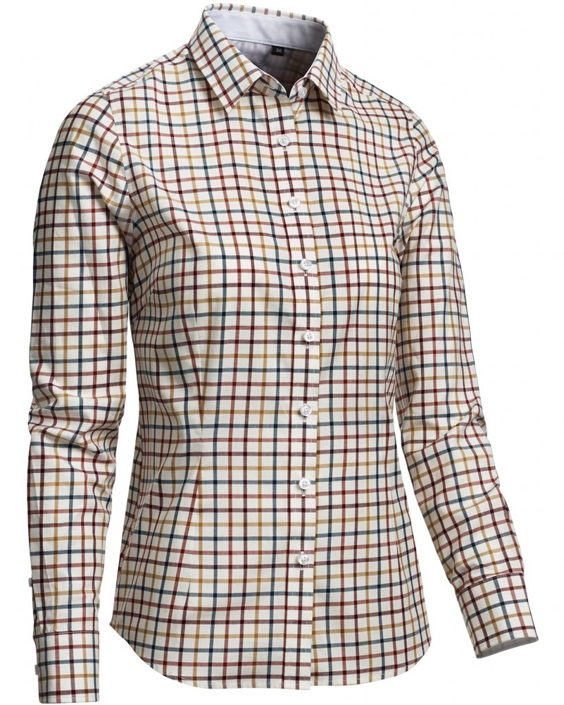 Charleston Lady Shirt LS Chevalier - Check