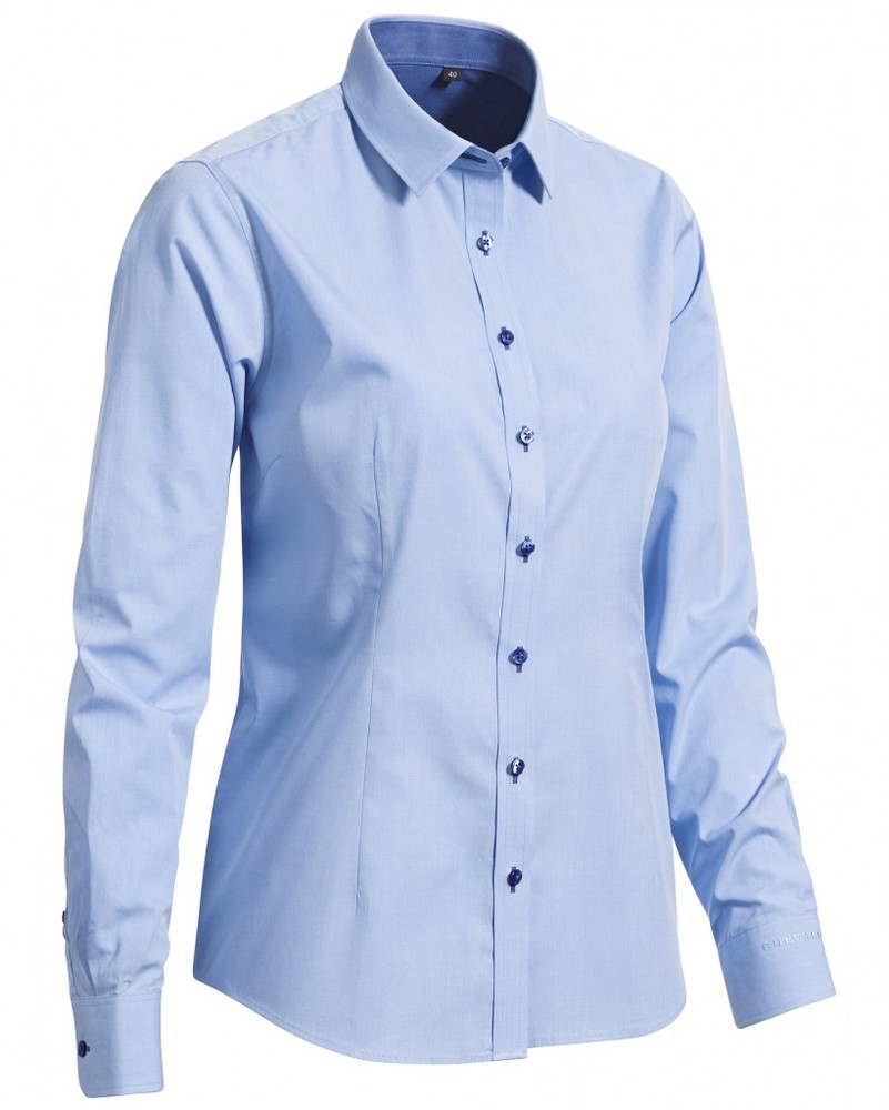 Sky Lady Shirt LS Chevalier - Blue