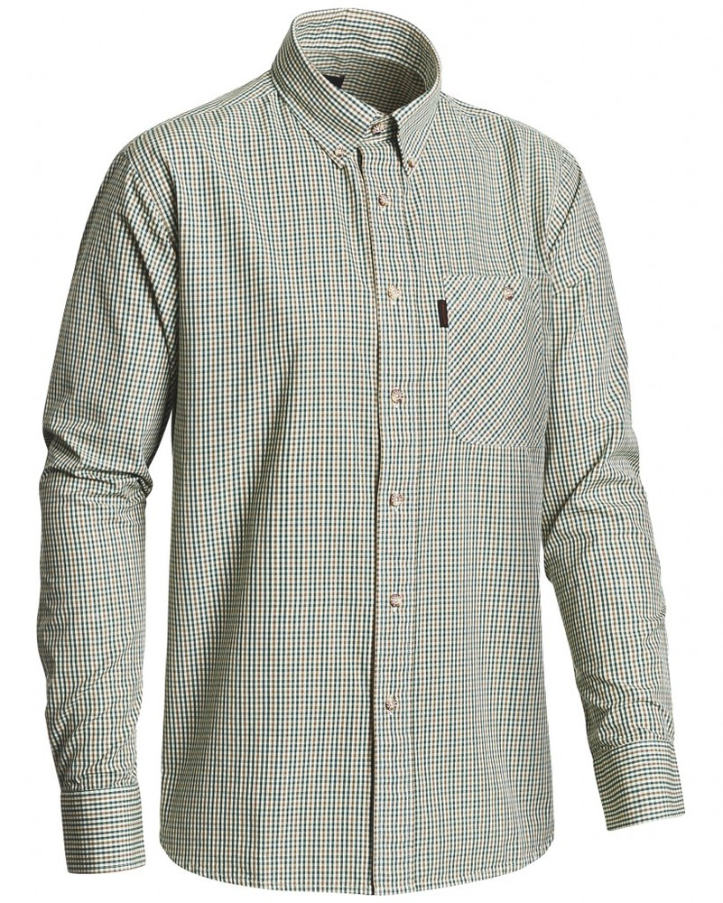 Glenbarr Poplin Shirt BD LS Chevalier