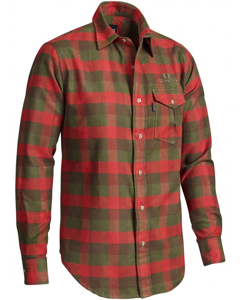 Marnoch H Flannel Shirt LS Chevalier