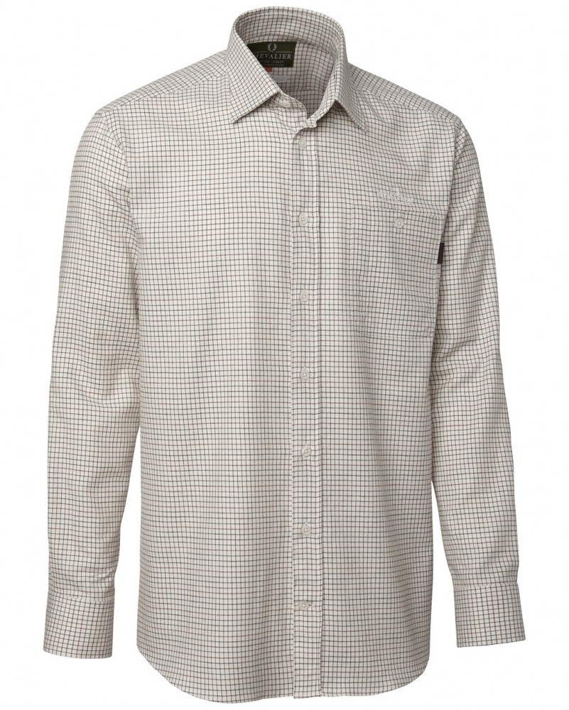 Maribor Cotton Wool Shirt BD LS Chevalier