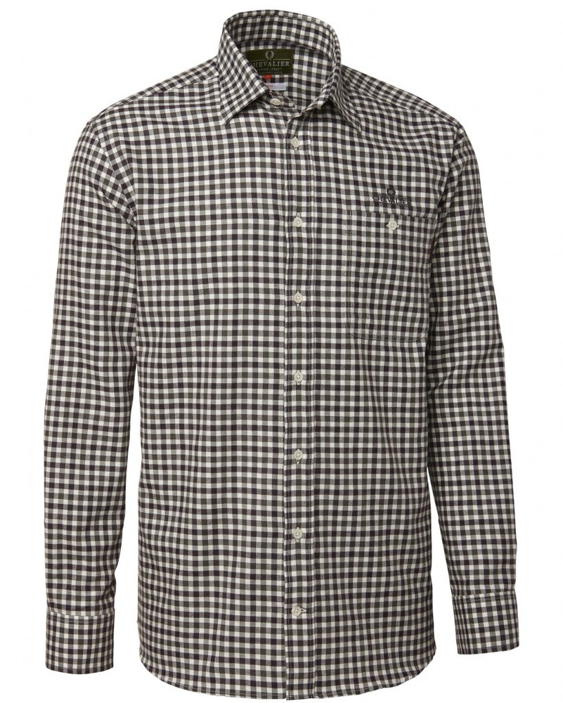 Nitra Cotton Wool Shirt BD LS Chevalier