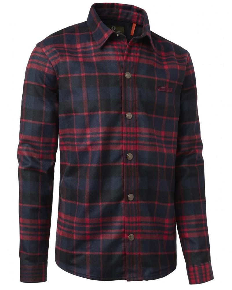Lenton Woolmix Shirt LS Chevalier