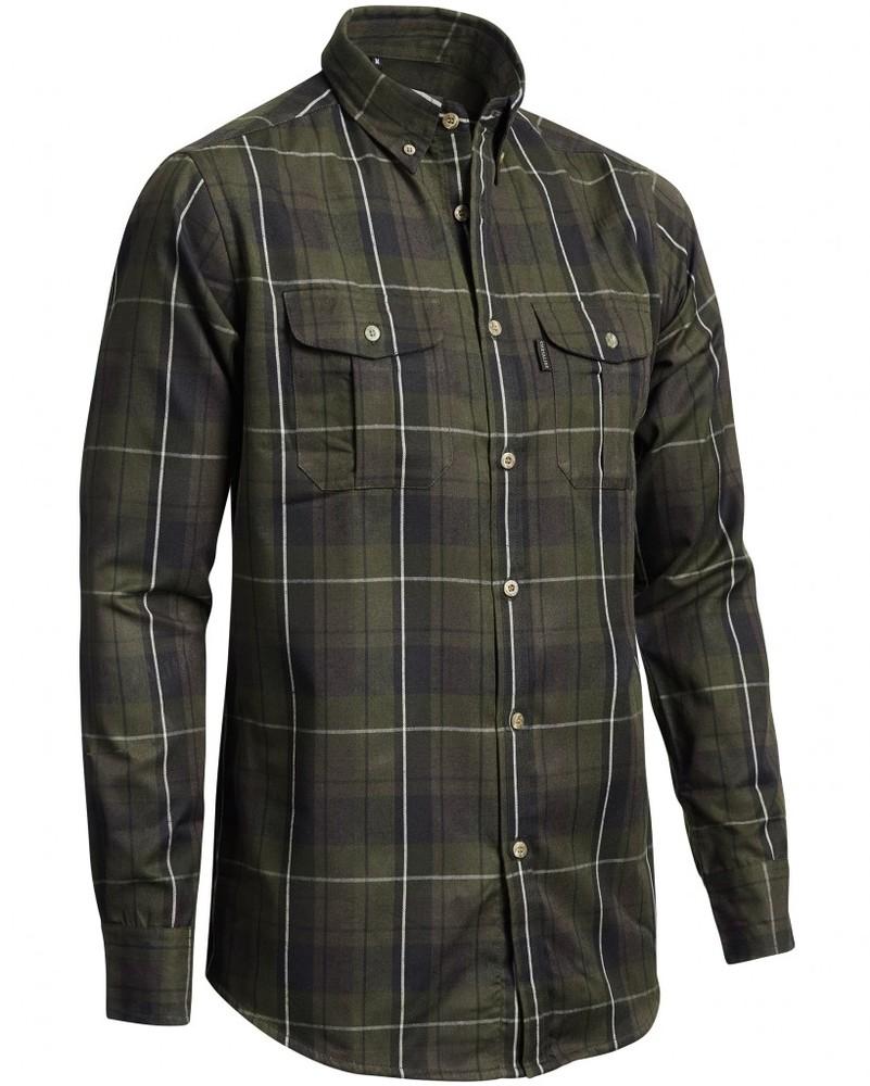 Ingram Woolmix Shirt w mesh LS Chevalier