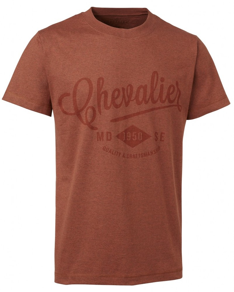 Wader Tee Chevalier - Orange