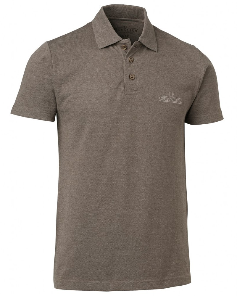 Whats Pique Shirt Chevalier - Khaki