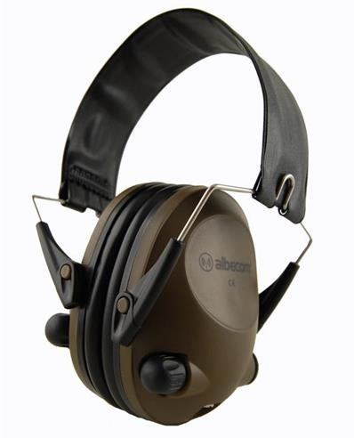 Hörselskydd 308E-V3 Aktiva Albecom - Grön