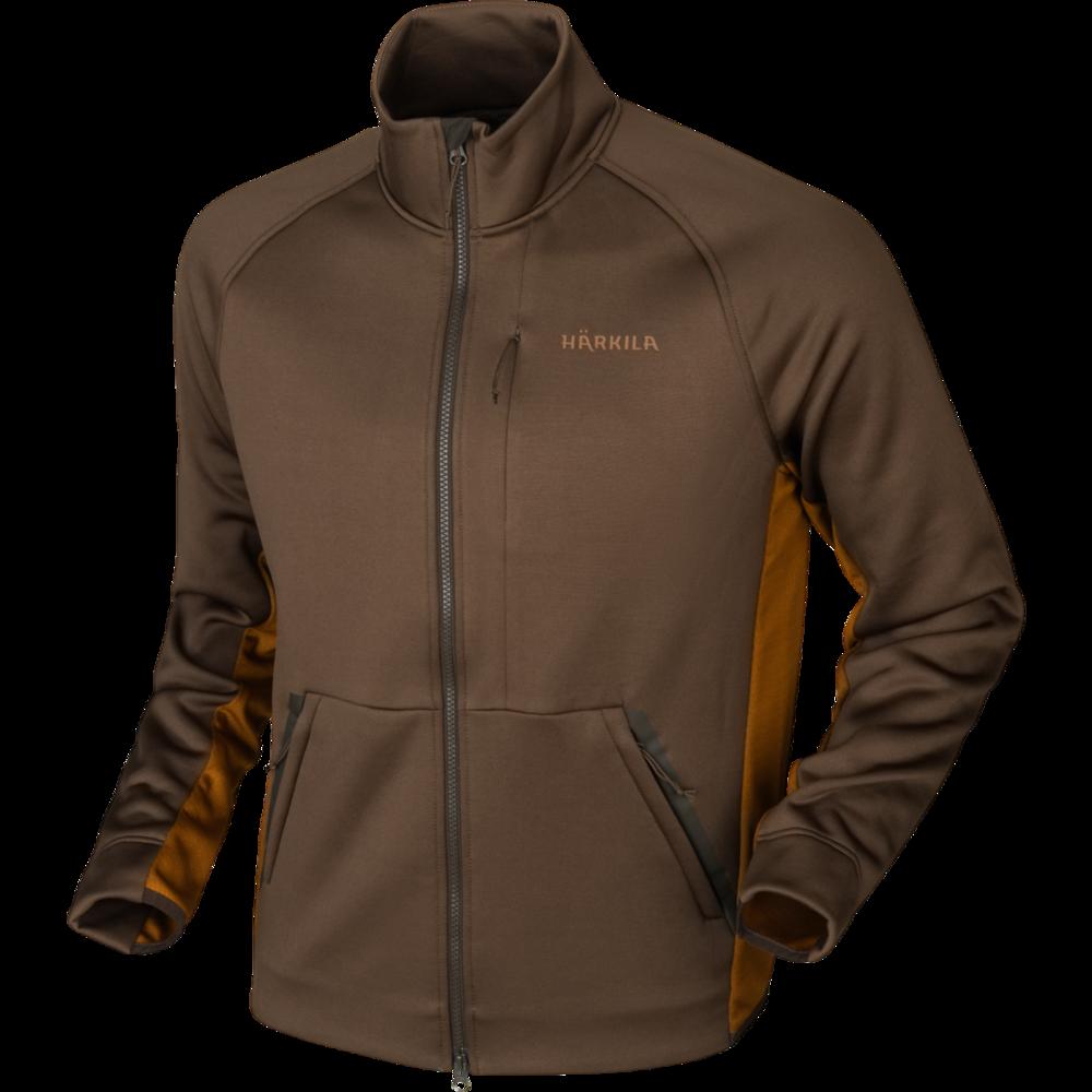 Borr Hybrid Fleece Härkila - Slate Brown/Rustique Clay