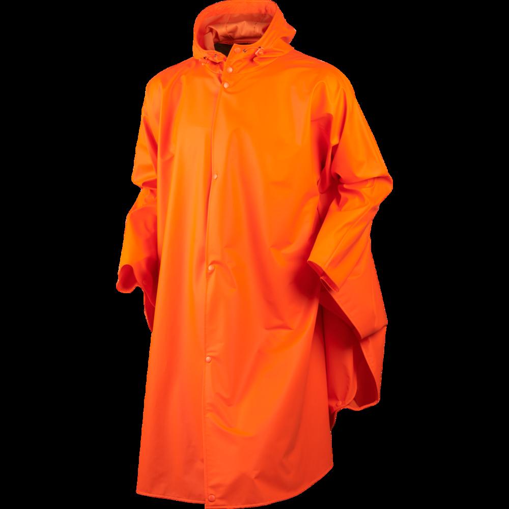 Rainy Poncho Härkila - Fluorescent Orange *