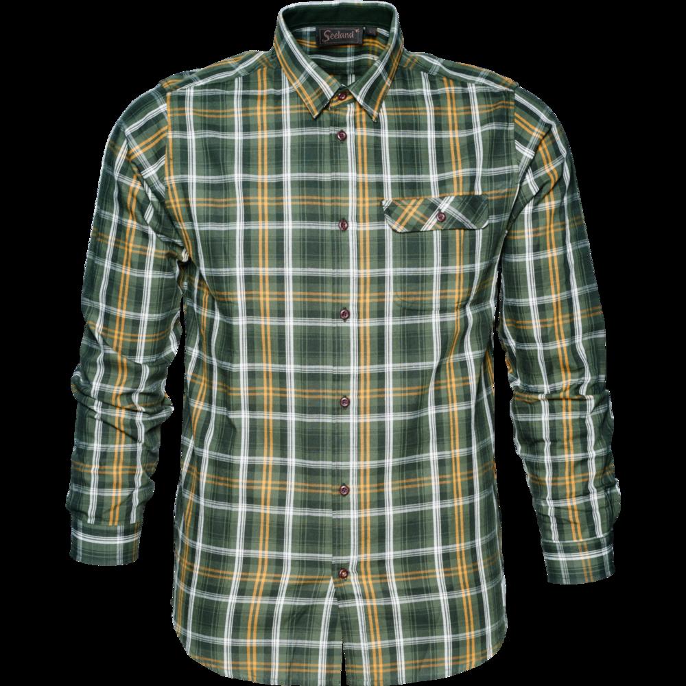Gibson Skjorta Härkila - Forest Green Check