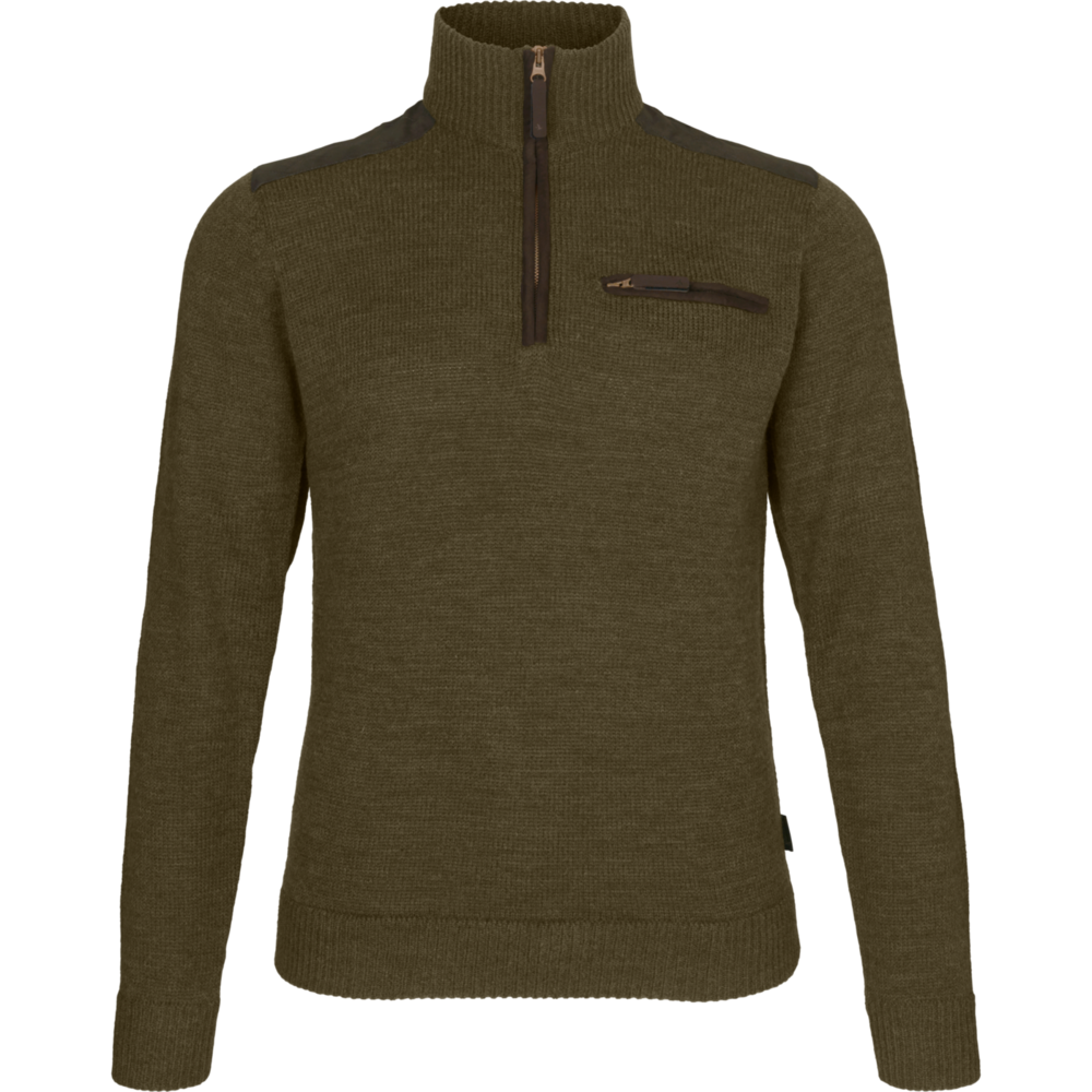 Buckthorn Half Zip Tröja Härkila -Shaded Olive Melange