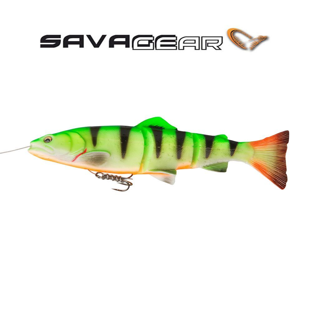 Savage Gear Line Thru Trout 20cm Firetiger Slow Sink