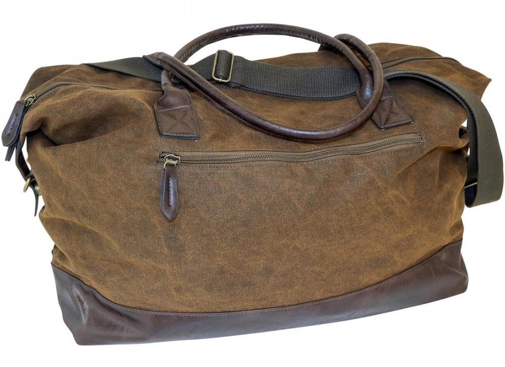 Black Moose Duffelbag Brun Läder
