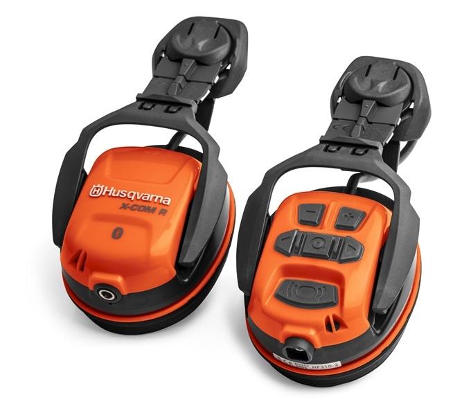 Hörselskydd X-COM R Bluetooth Hjälmbaserad Husqvarna *
