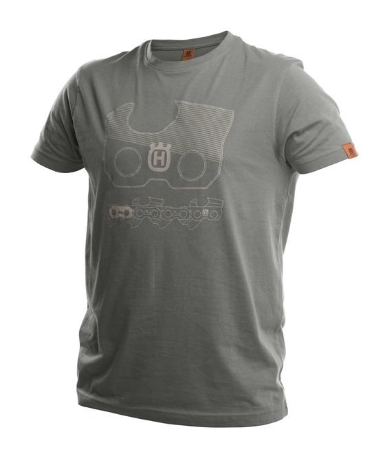 Xplorer T-shirt Kortärmad Husqvarna - Ljusgrå *