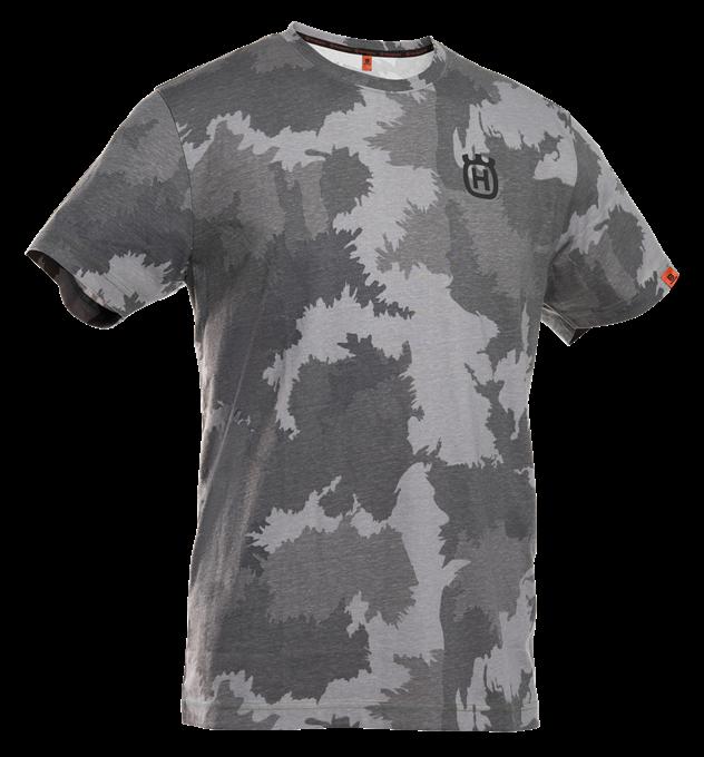 Xplorer T-shirt Kortärmad Husqvarna - Stålgrå Camo *