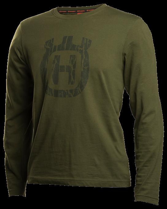 Xplorer T-shirt Långärmad Husqvarna - Barkmönstrad Kamouflage *