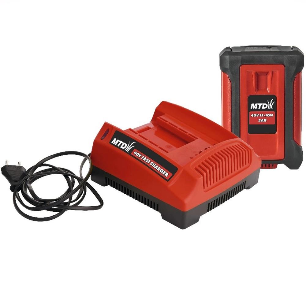 Startset Laddare/Batteri 2,0 Ah MTD *