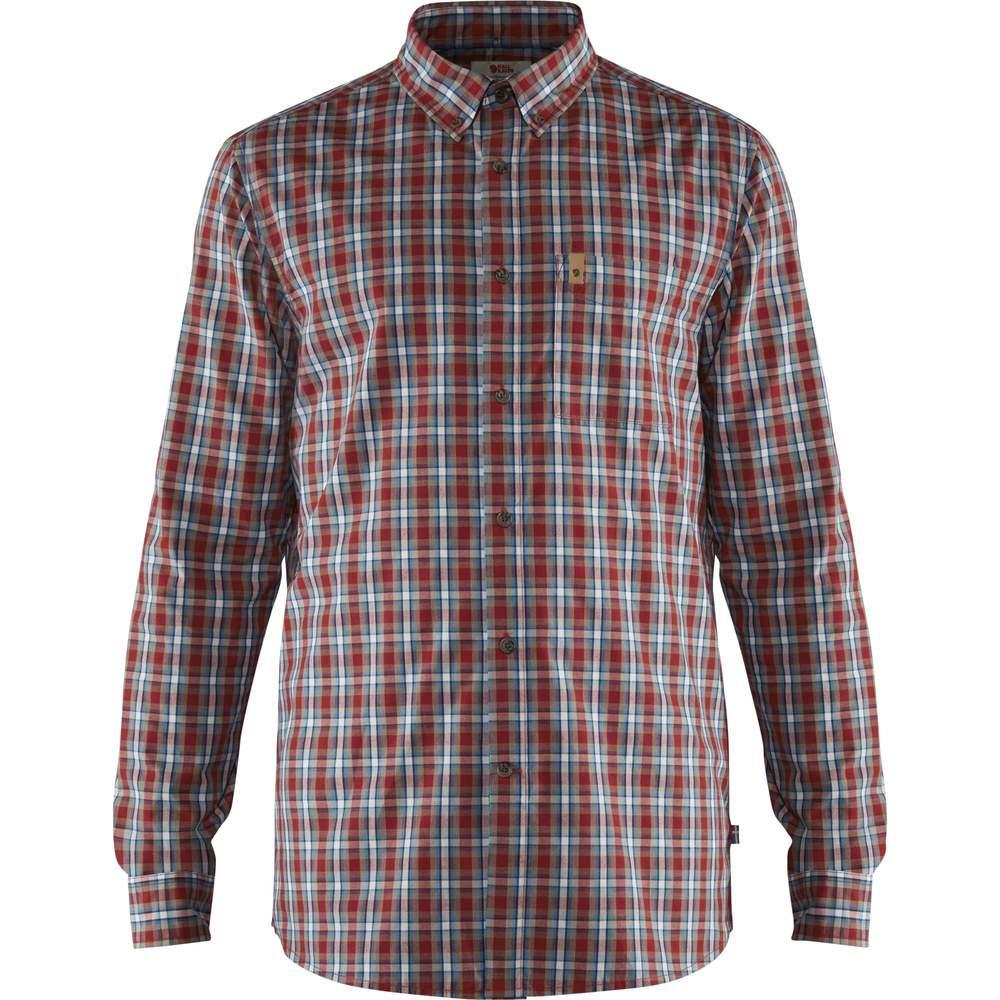 Övik Shirt LS M Fjällräven - Deep Red