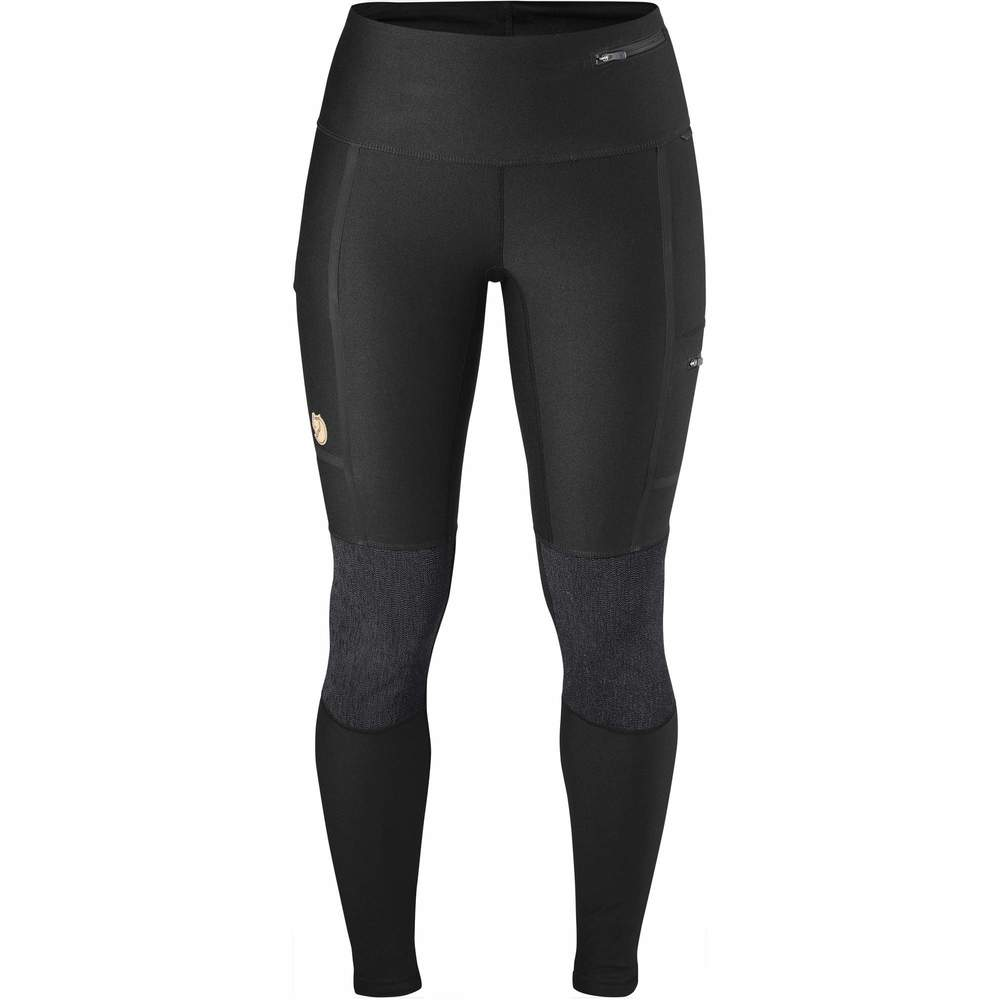 Abisko Trekking Tights W Fjällräven - Black *