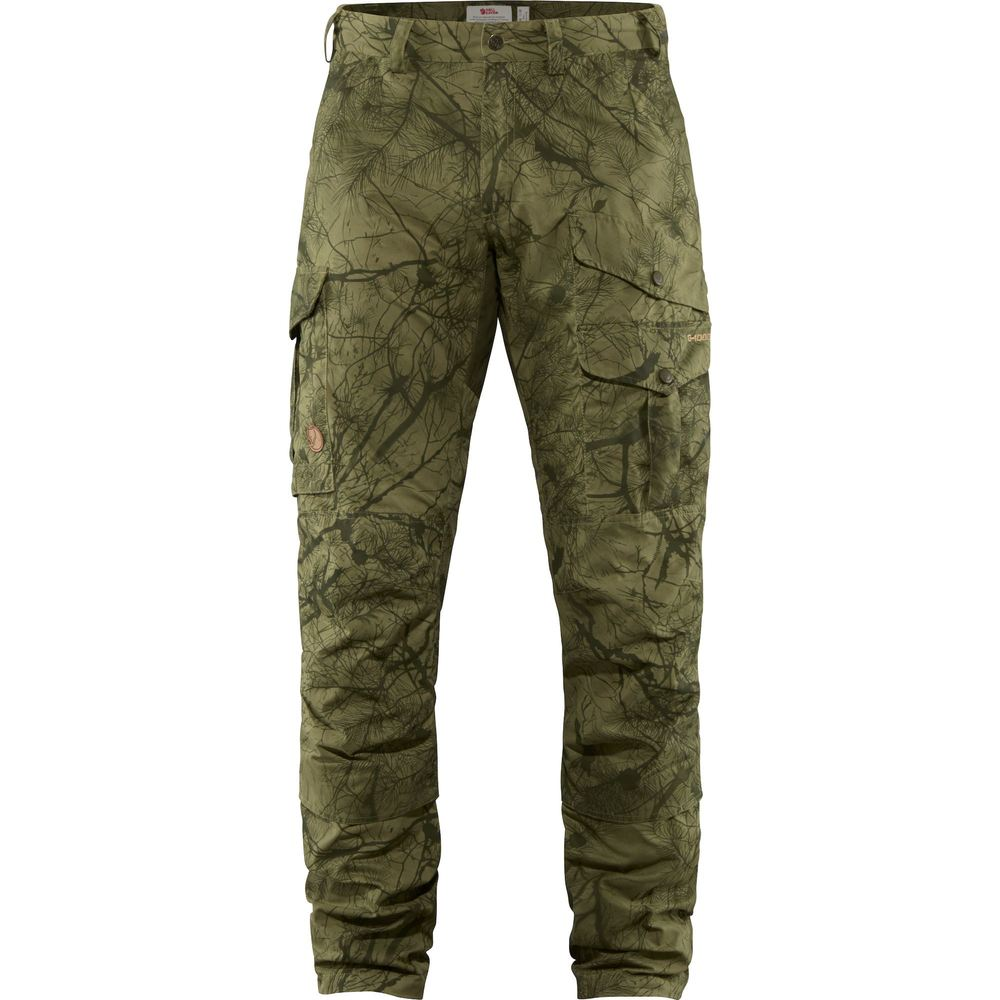 Barents Pro Hunting Trousers M Fjällräven - Green Camo/Deep Forest