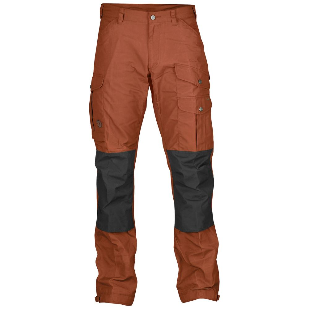 Vidda Pro Trousers Regular Byxa Fjällräven - Autumn Leaf/Stone Grey *