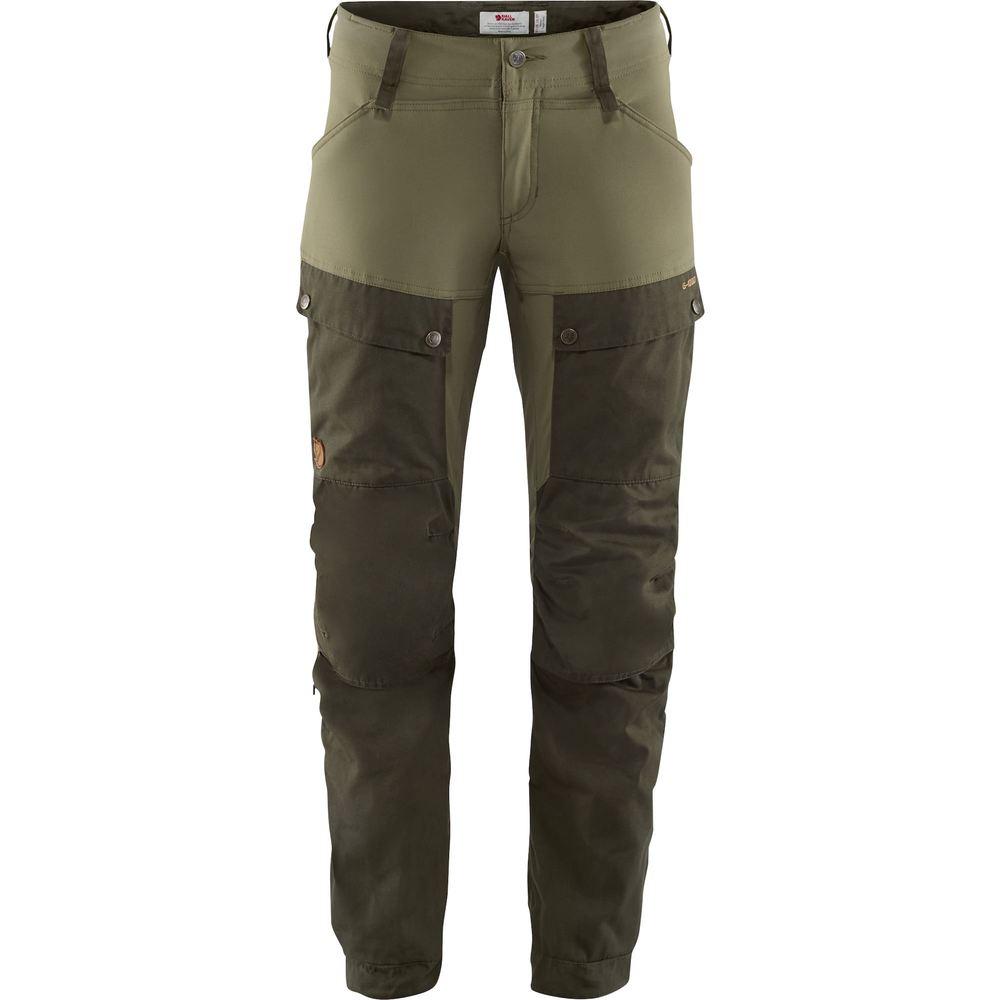 Keb Trousers W Regular Byxa Dam Fjällräven - Deep Forest/Laurel Green *