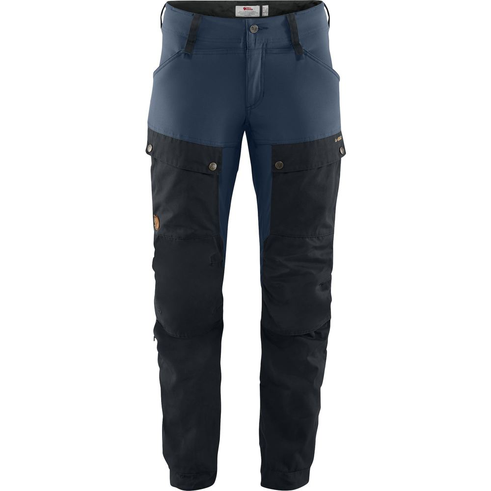 Keb Trousers W Regular Byxa Dam Fjällräven - Dark Navy/Uncle Blue *