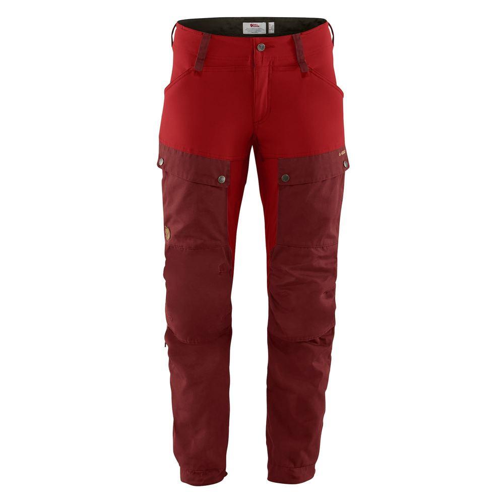 Keb Trousers W Regular Byxa Dam Fjällräven - Ox Red/Lava *