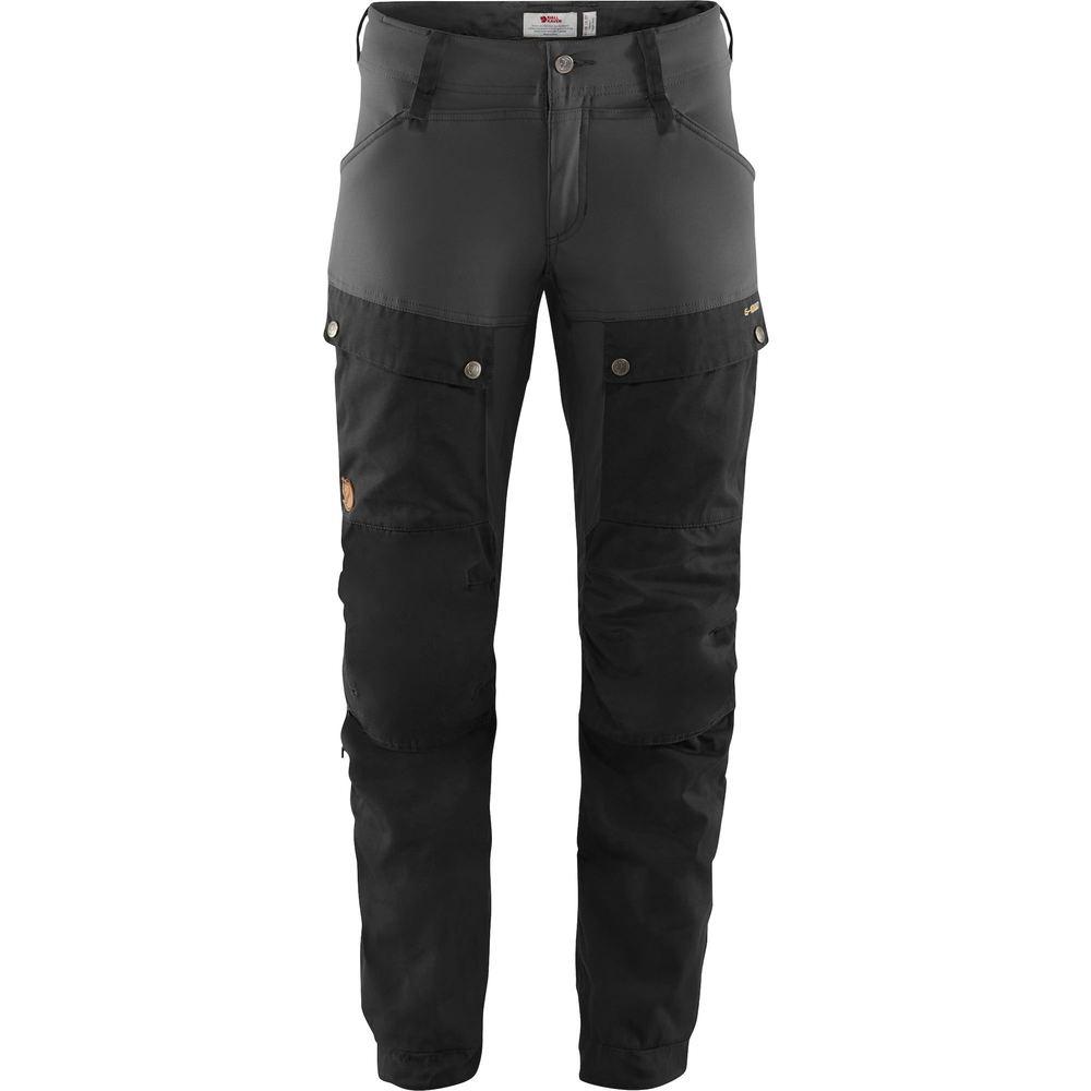 Keb Trousers W Regular Byxa Dam Fjällräven - Black/Stone Grey *