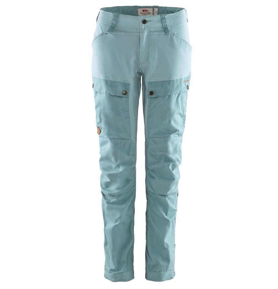 Keb Trousers W Regular Byxa Dam Fjällräven - Clay Blue/Mineral Blue *