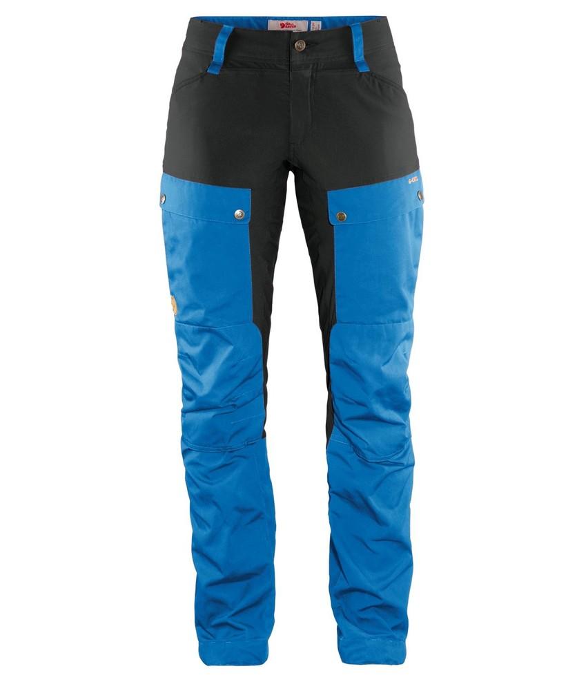 Keb Trousers Curved W Regular Fjällräven - UN Blue/Stone Grey *
