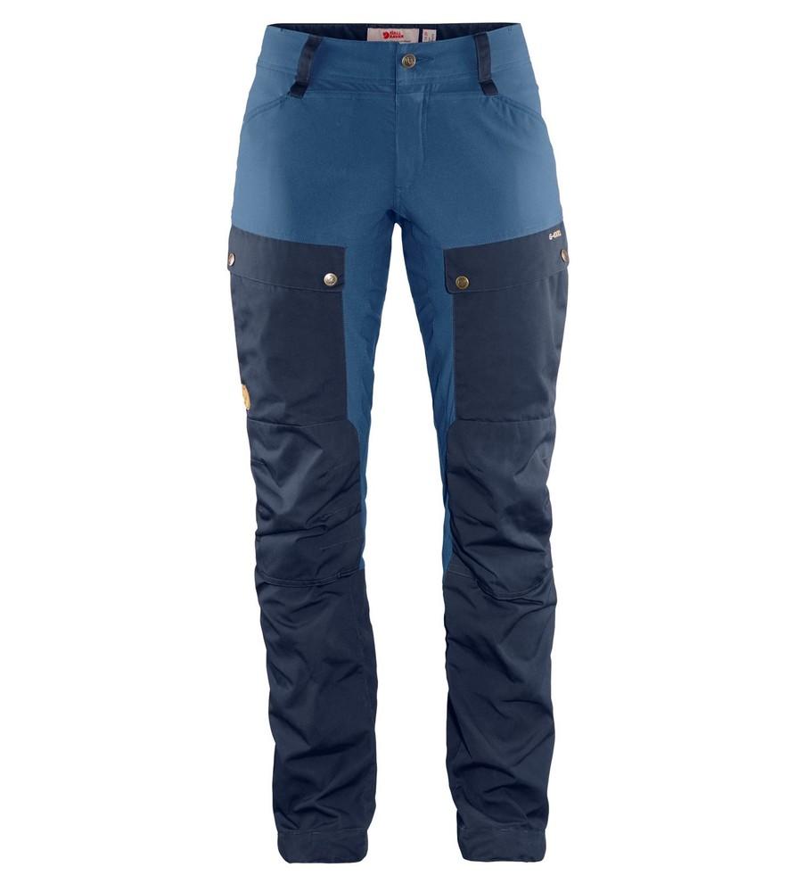 Keb Trousers Curved W Regular Fjällräven - Dark Navy/Uncle Blue *