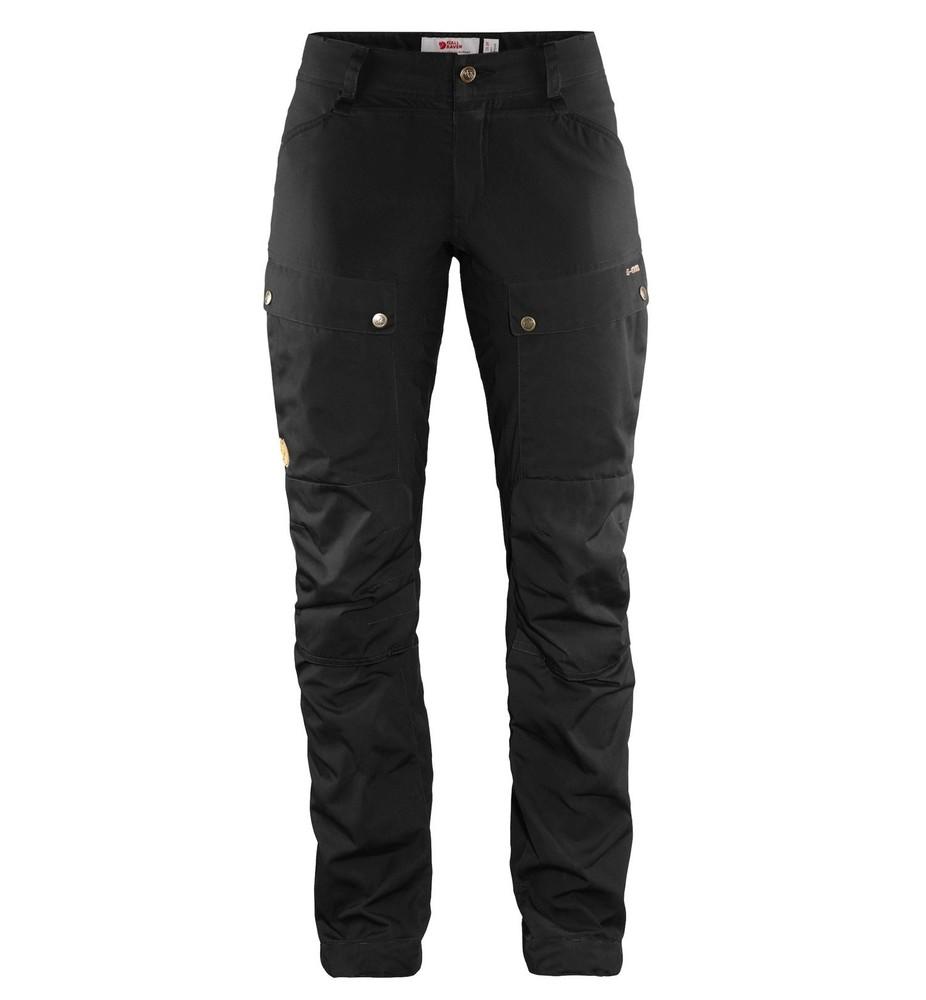 Keb Trousers Curved W Regular Fjällräven - Black *