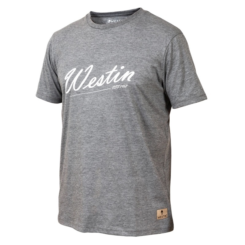 Westin Old School T-Shirt - Grey Melange