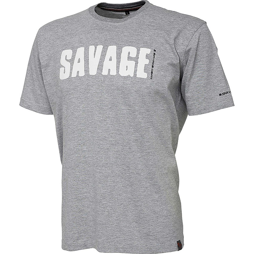 Simply Savage Tee Savage Gear - Grå