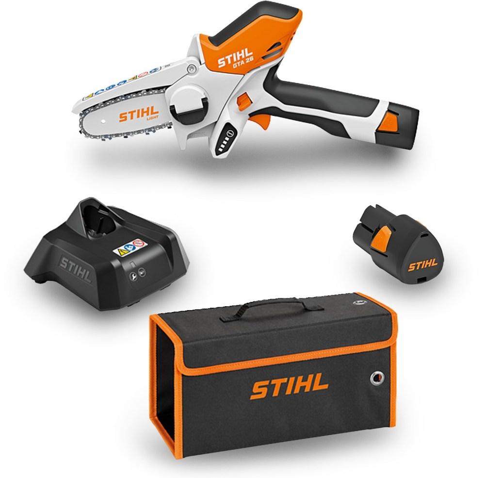 Stihl GTA 26 Grenkap Batteri Komplett