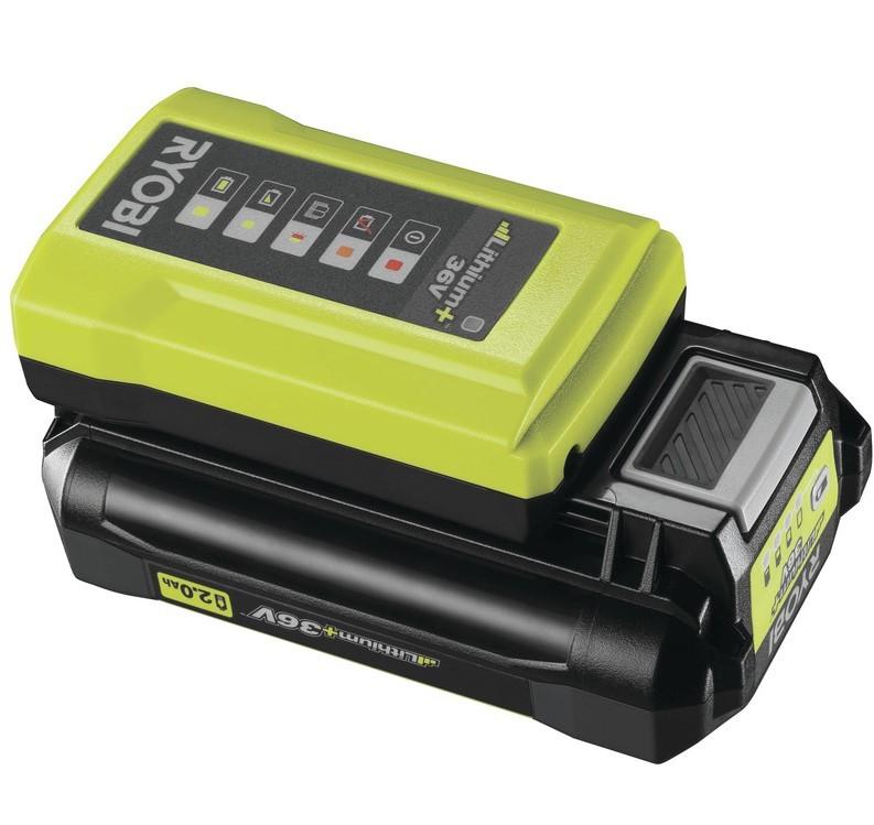 Ryobi RY36BC17A-120 Batteri & Laddare 36V *