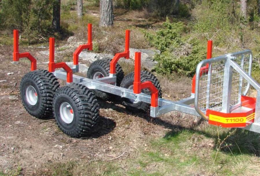 Kranman T1100 Timmervagn