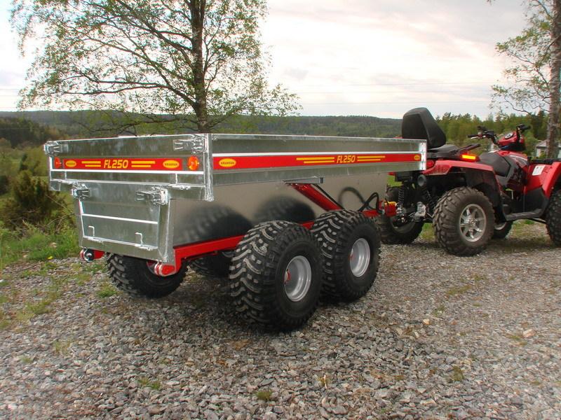 Kranman FL250V Dumpersvagn