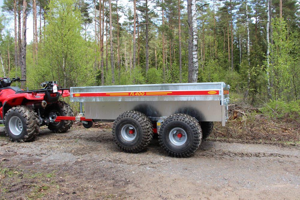 Kranman FL400 Transportvagn