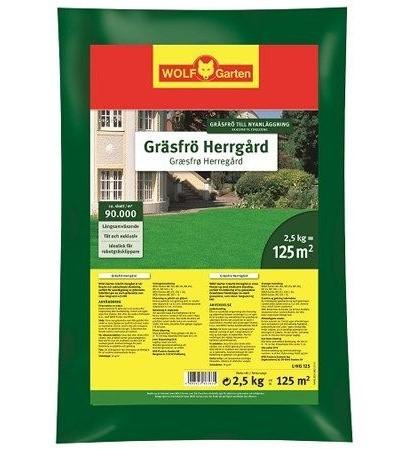 WOLF-Garten L-HG 125 Gräsfrö Herrgård 125 m² *